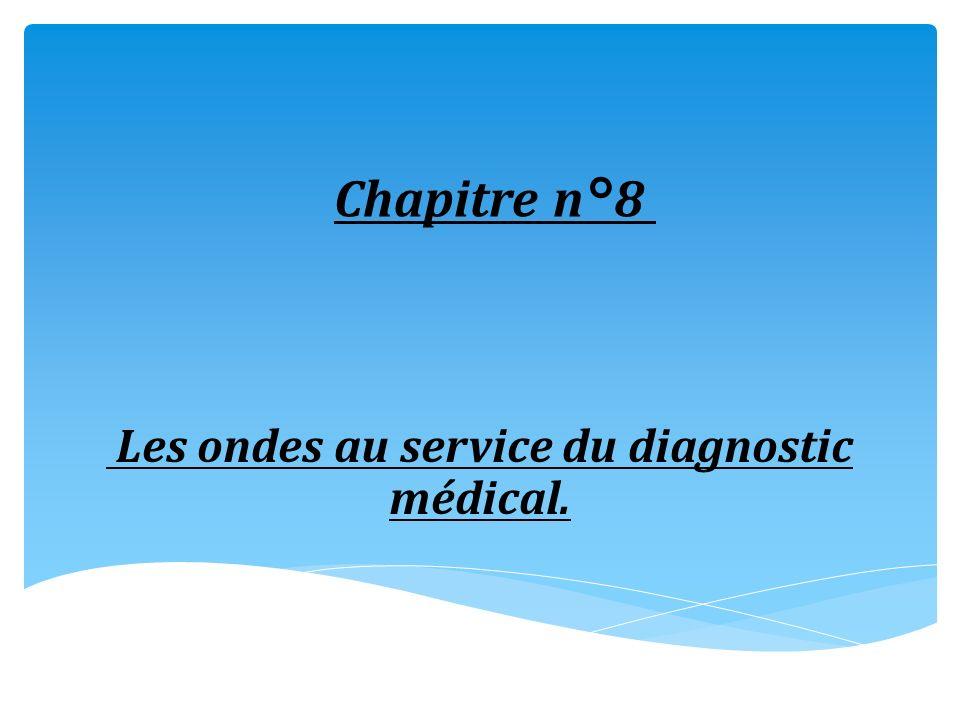 Les ondes au service du diagnostic médical.