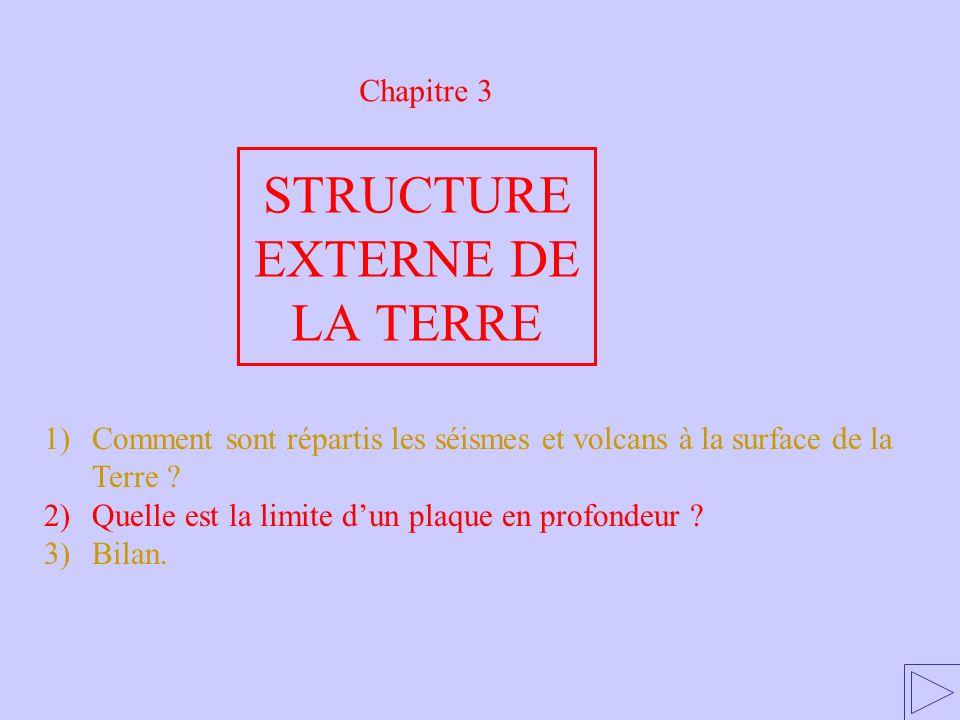 STRUCTURE EXTERNE DE LA TERRE