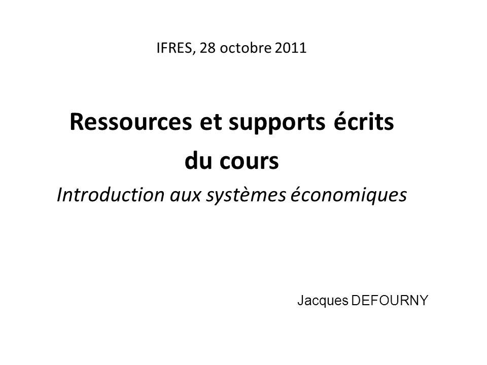 Ressources et supports écrits