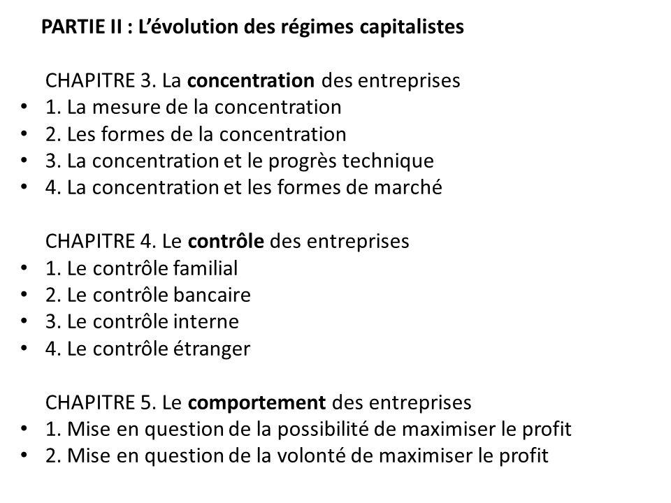 CHAPITRE 3. La concentration des entreprises