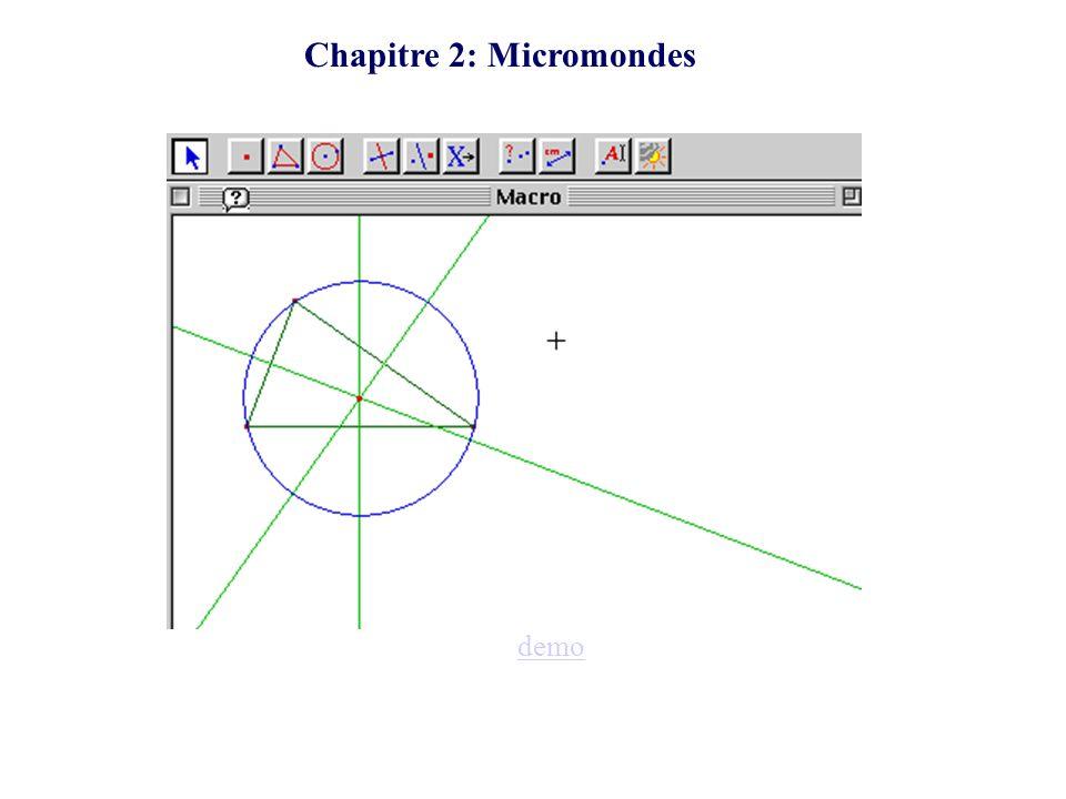Chapitre 2: Micromondes