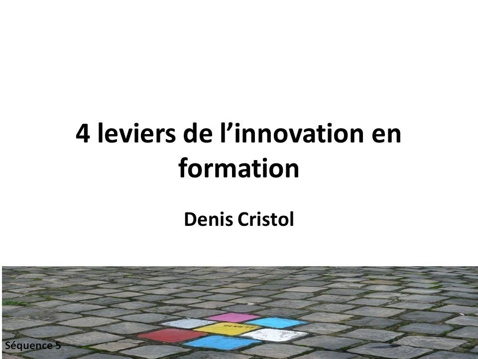 4 leviers de l'innovation en formation