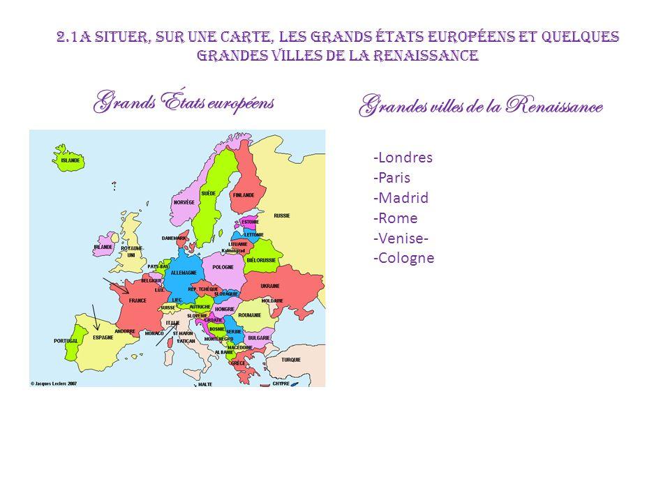 Grands États européens