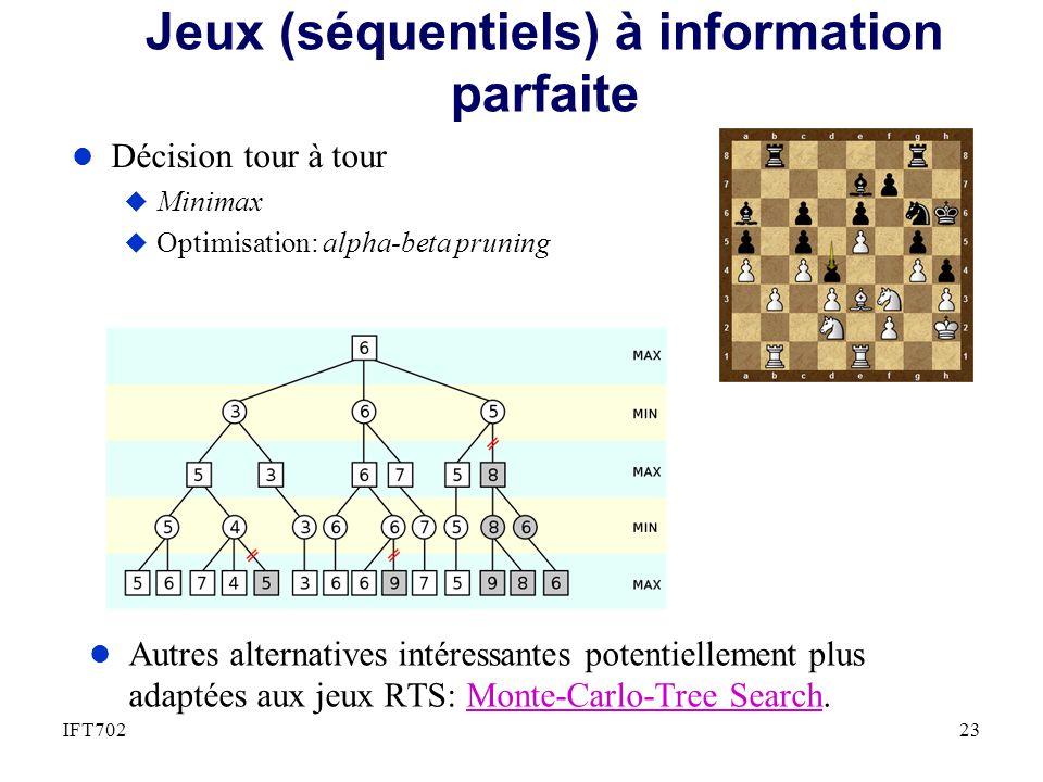 Jeux (séquentiels) à information parfaite