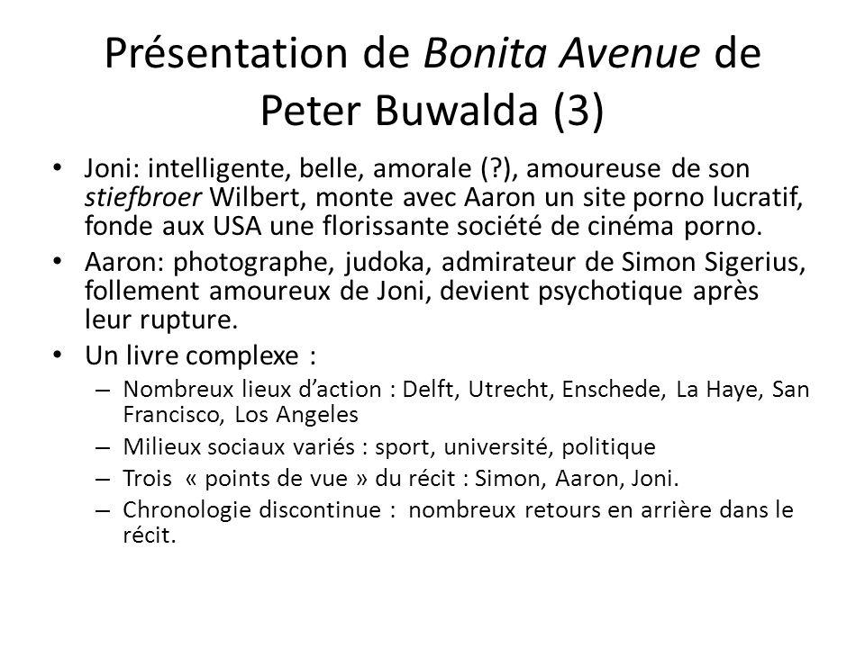 Présentation de Bonita Avenue de Peter Buwalda (3)