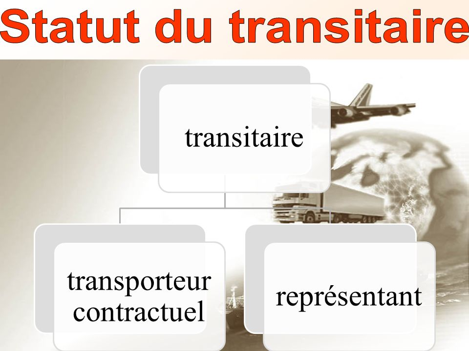transporteur contractuel