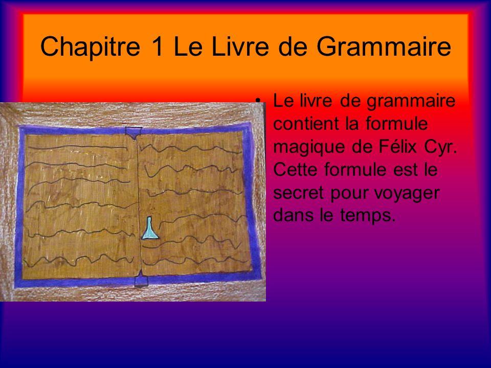 Chapitre 1 Le Livre de Grammaire