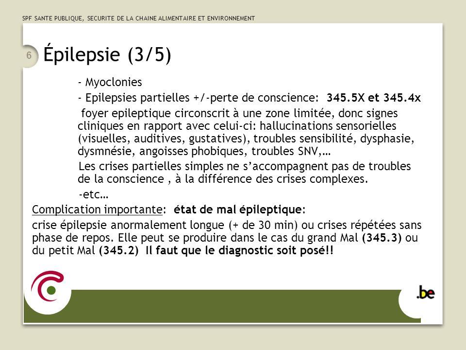 Épilepsie (3/5) - Myoclonies