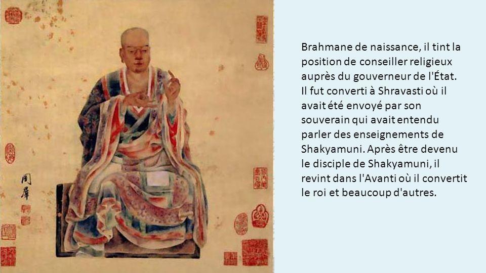 Brahmane de naissance, il tint la position de conseiller religieux auprès du gouverneur de l État.