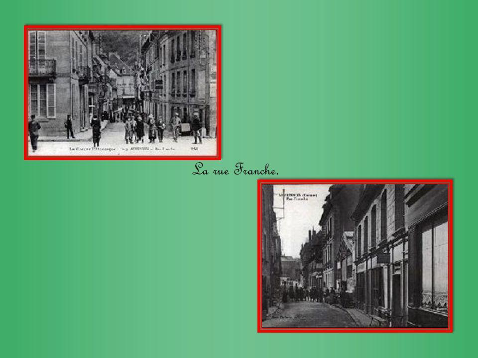 La rue Franche.