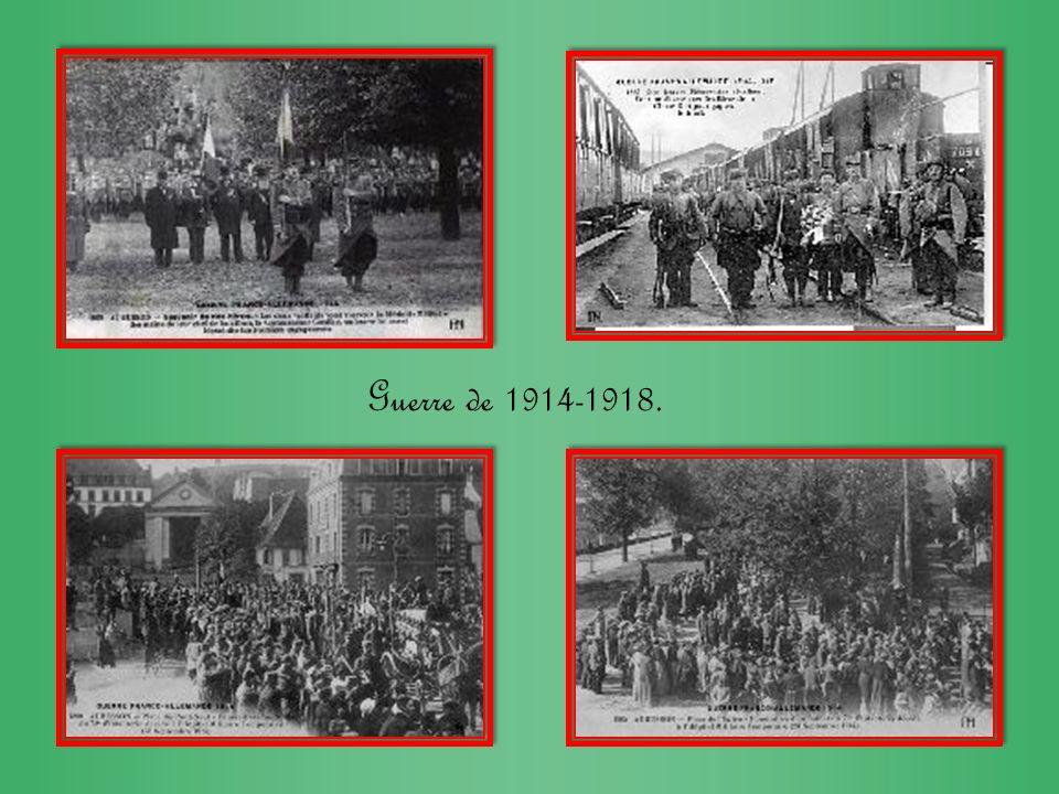 Guerre de 1914-1918.
