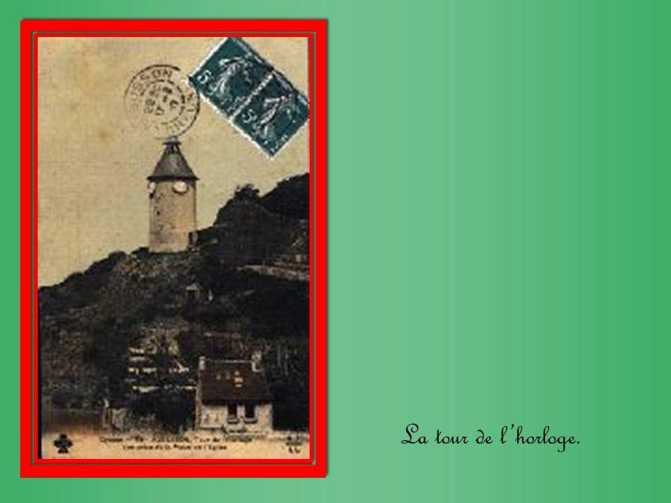 La tour de l'horloge.