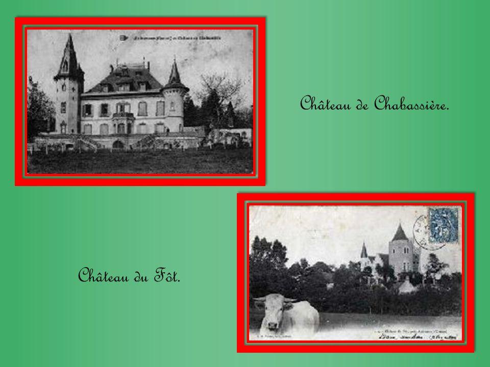 Château de Chabassière.