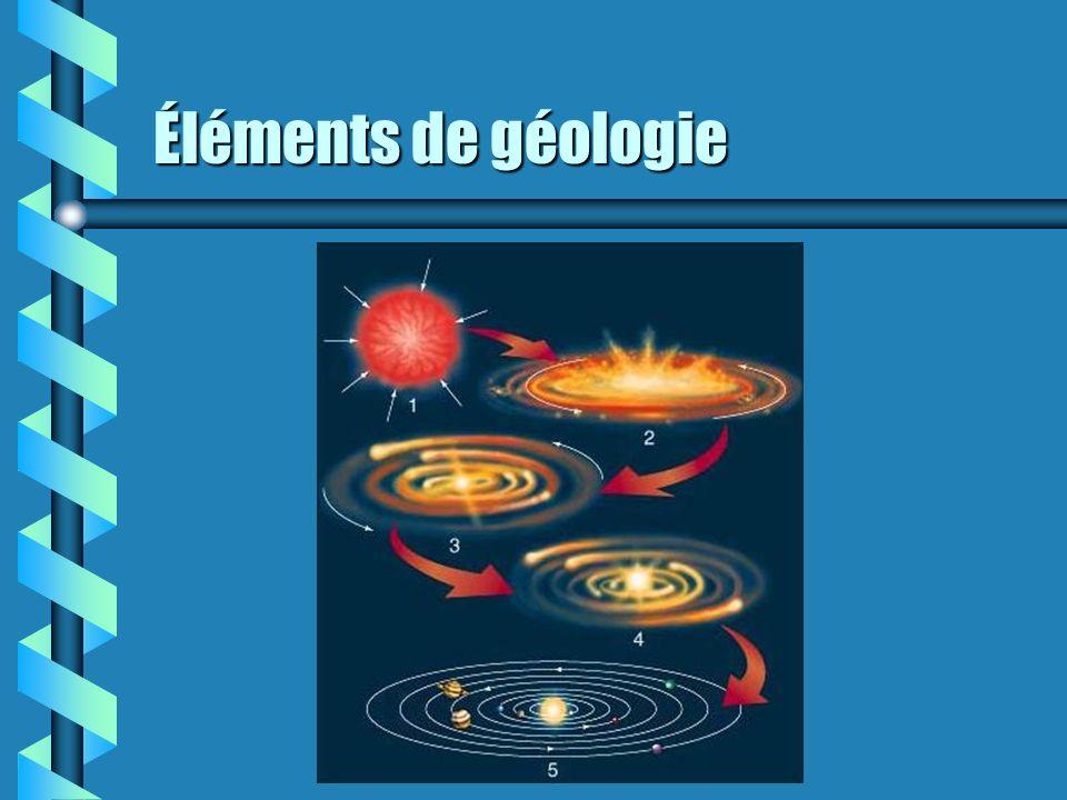 Éléments de géologie