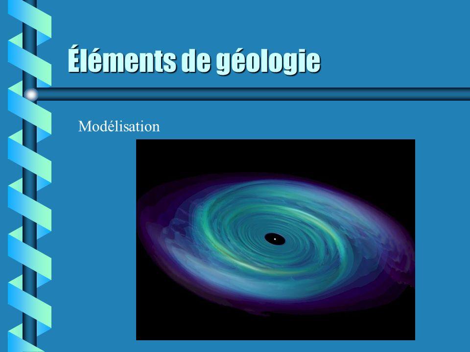 Éléments de géologie Modélisation