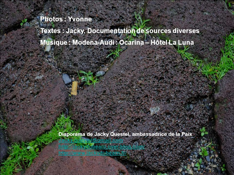 Textes : Jacky. Documentation de sources diverses