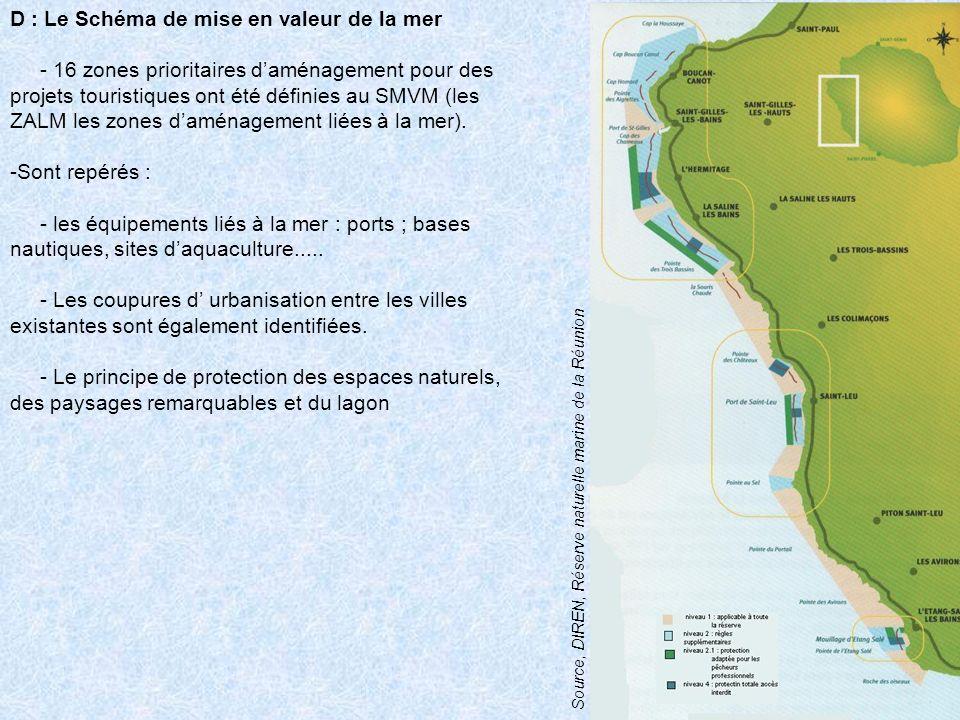 D : Le Schéma de mise en valeur de la mer