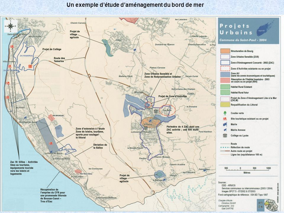 Un exemple d'étude d'aménagement du bord de mer