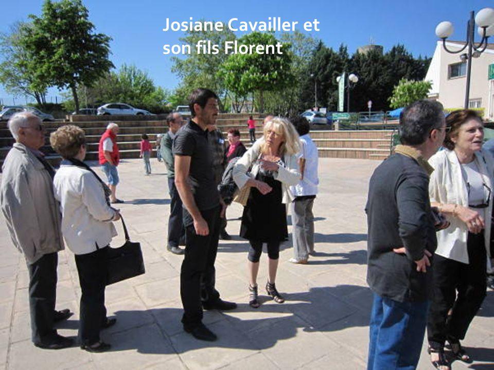 Josiane Cavailler et son fils Florent