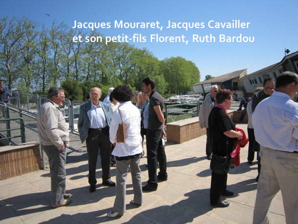 Jacques Mouraret, Jacques Cavailler et son petit-fils Florent, Ruth Bardou