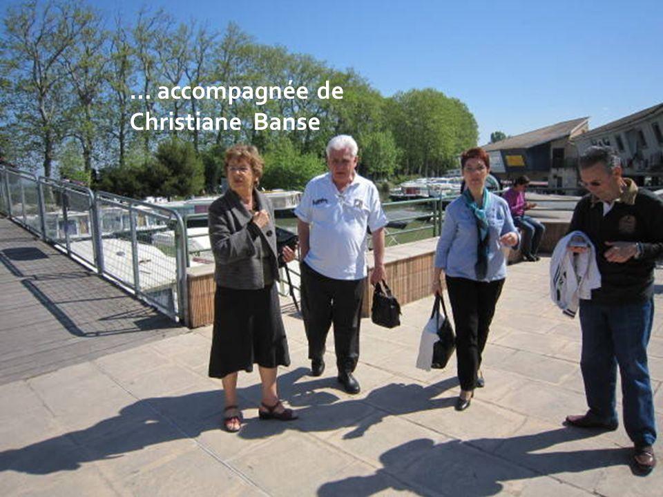 … accompagnée de Christiane Banse
