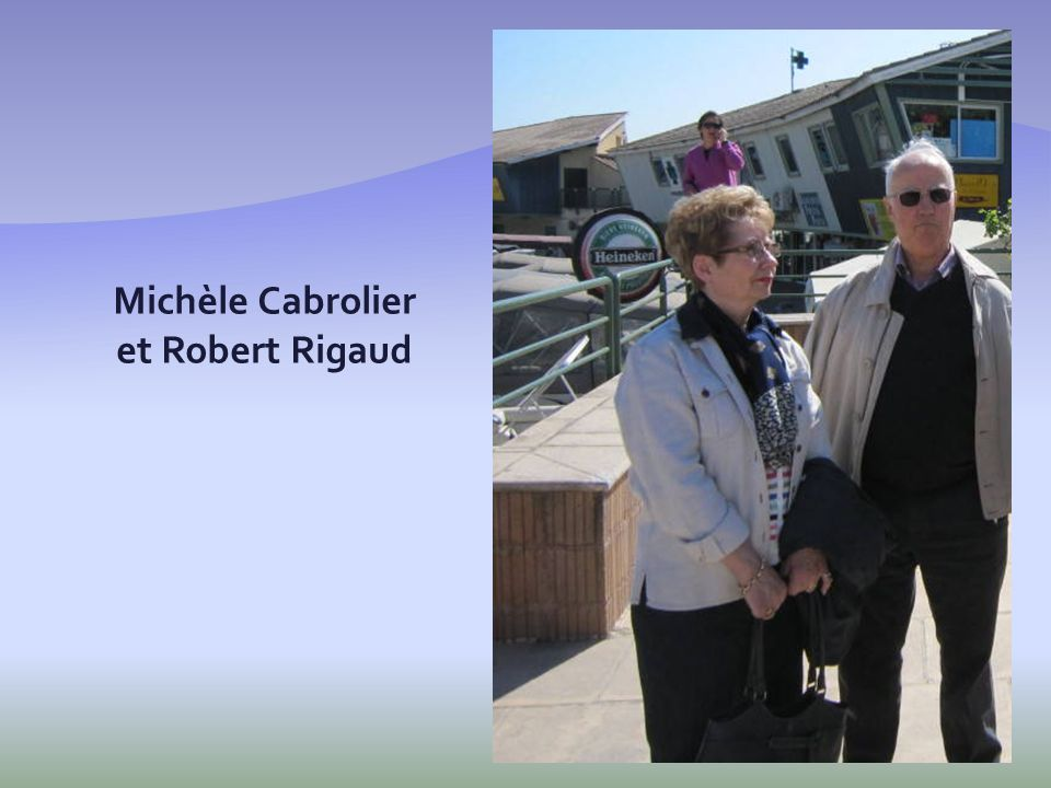Michèle Cabrolier et Robert Rigaud