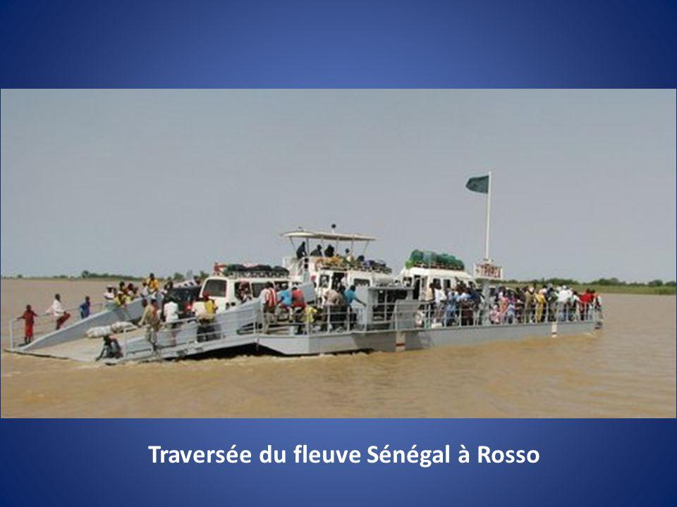 Traversée du fleuve Sénégal à Rosso