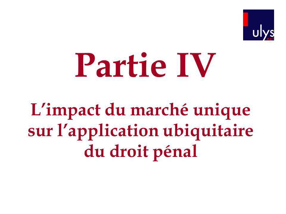 L'impact du marché unique sur l'application ubiquitaire