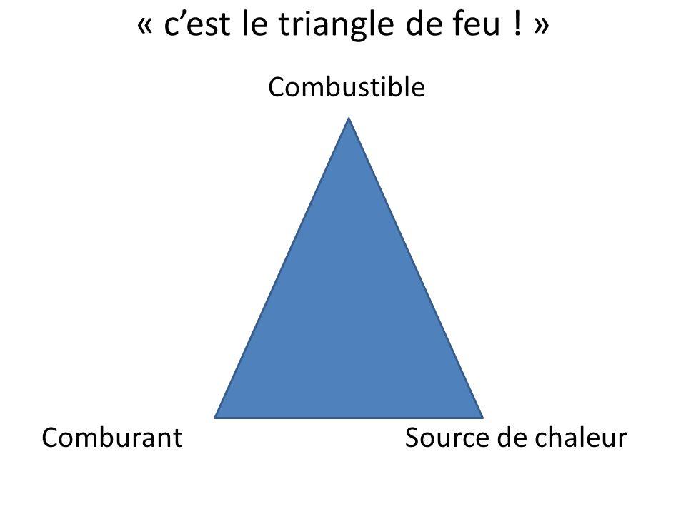« c'est le triangle de feu ! »