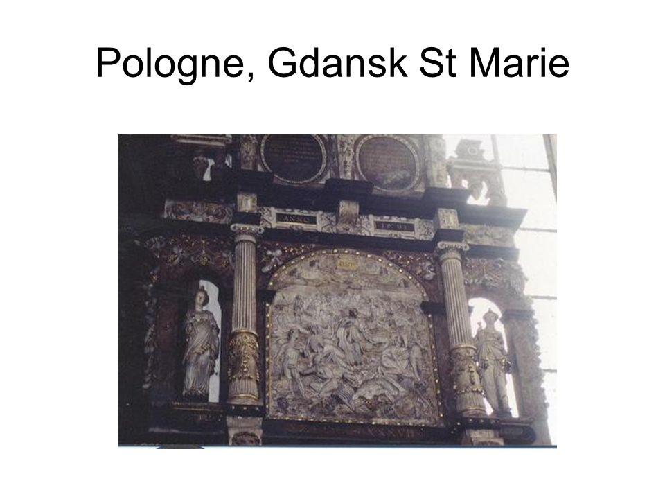 Pologne, Gdansk St Marie