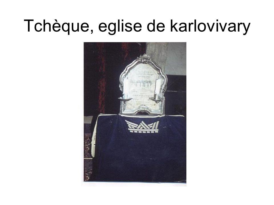 Tchèque, eglise de karlovivary