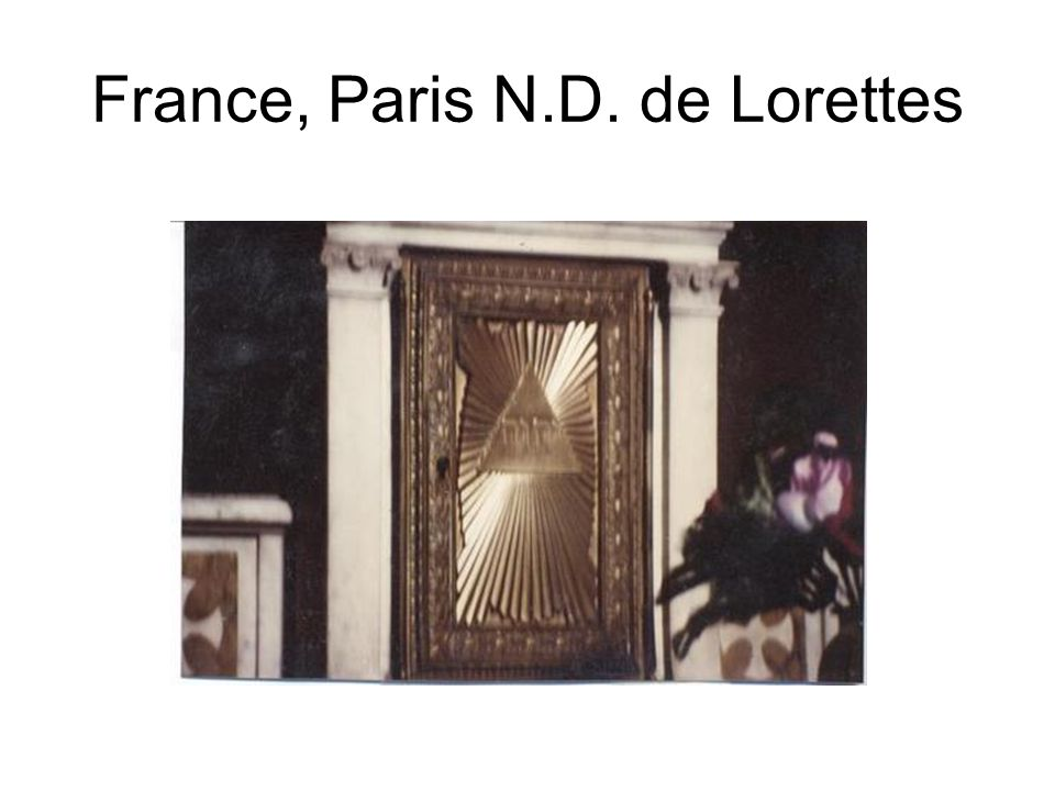 France, Paris N.D. de Lorettes