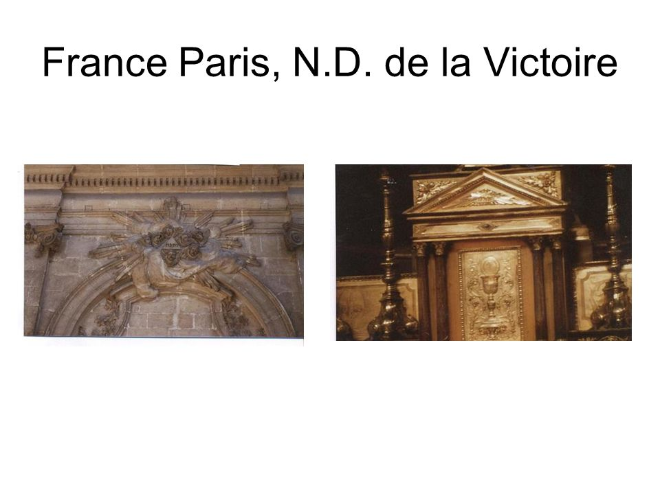 France Paris, N.D. de la Victoire