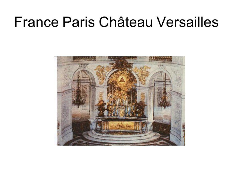 France Paris Château Versailles