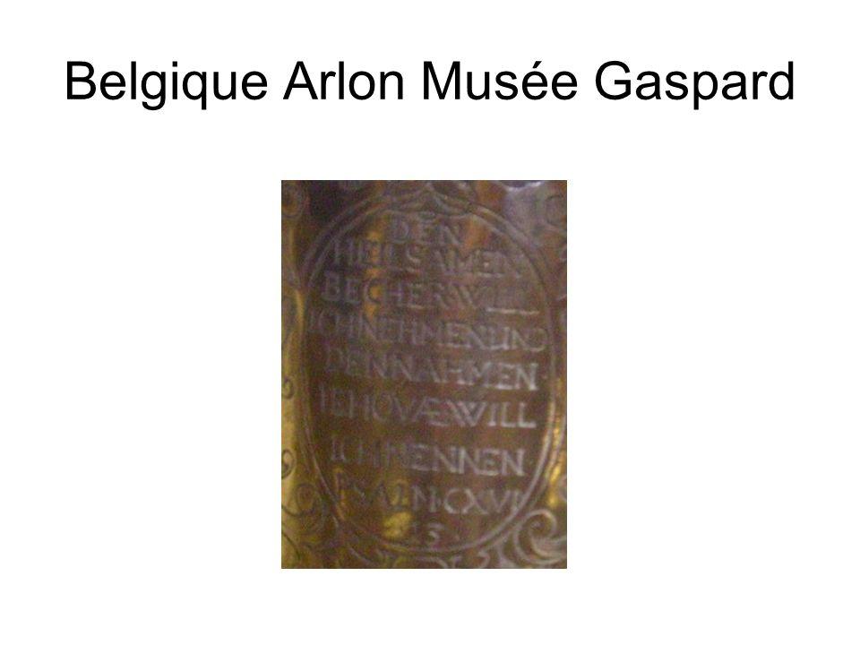 Belgique Arlon Musée Gaspard