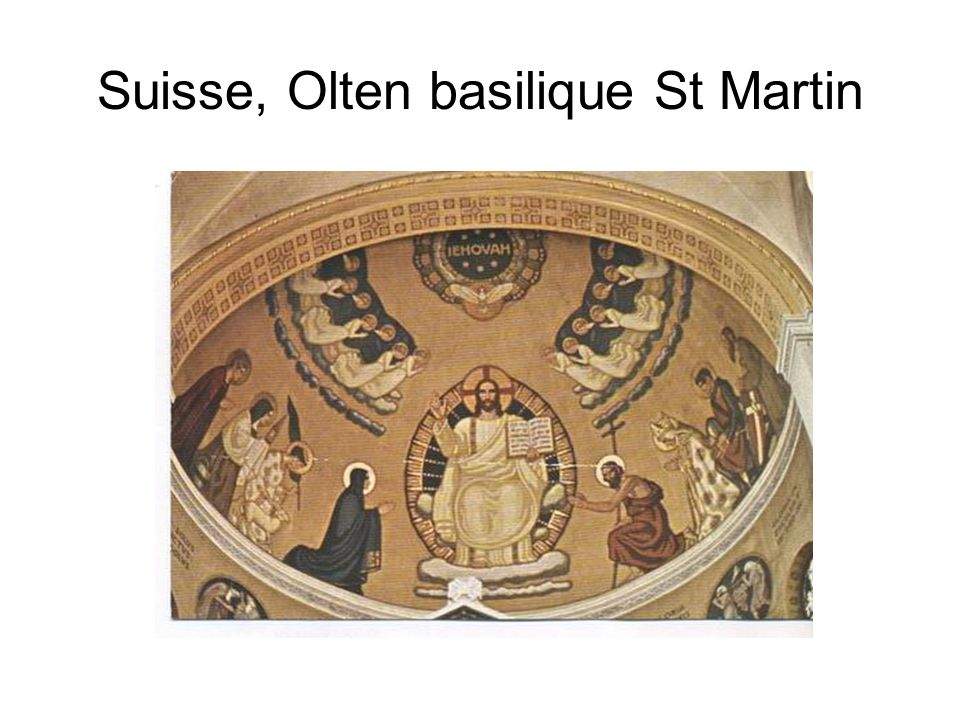 Suisse, Olten basilique St Martin
