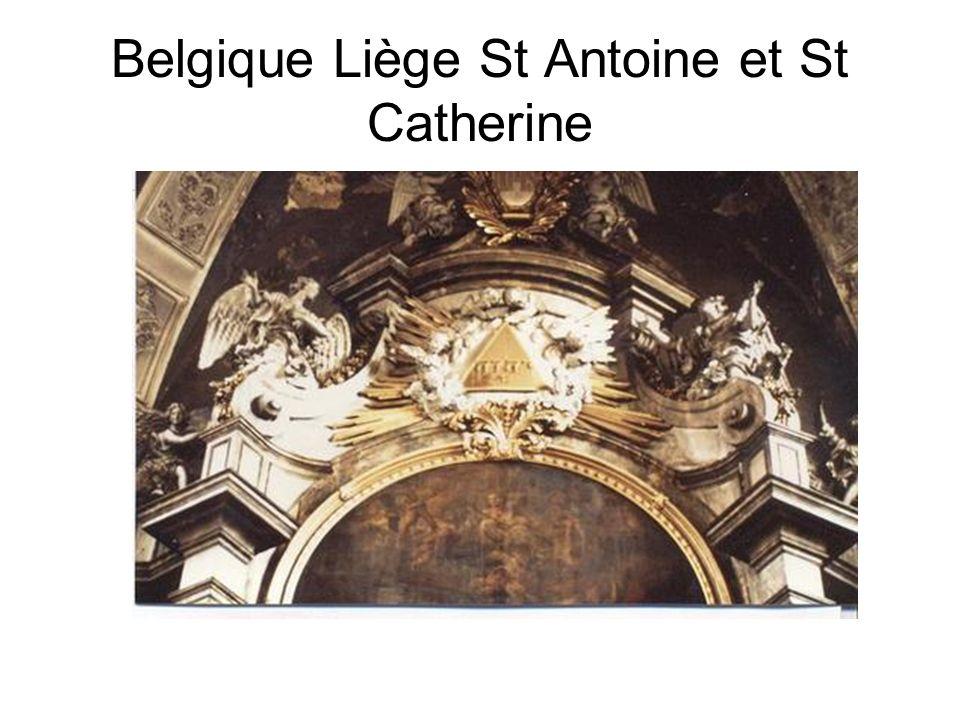 Belgique Liège St Antoine et St Catherine