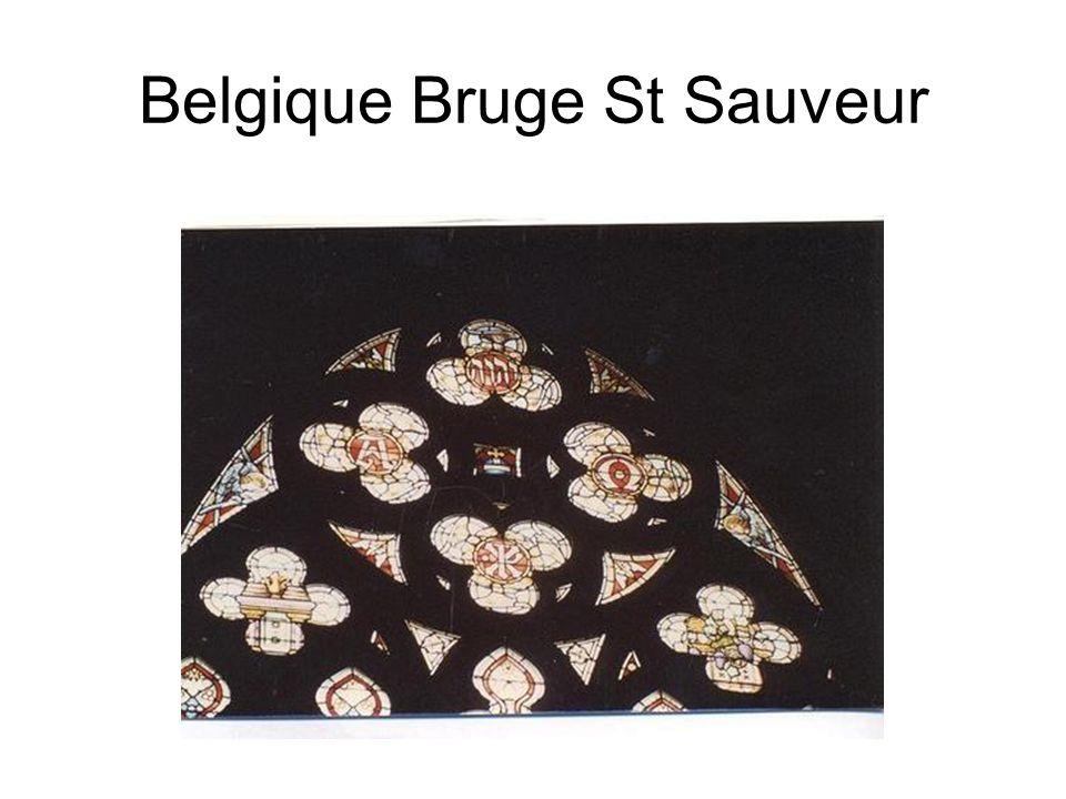 Belgique Bruge St Sauveur