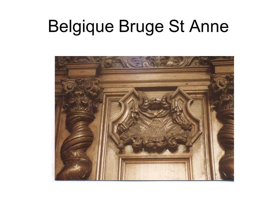 Belgique Bruge St Anne