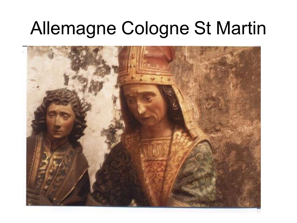 Allemagne Cologne St Martin