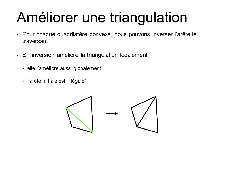 Améliorer une triangulation