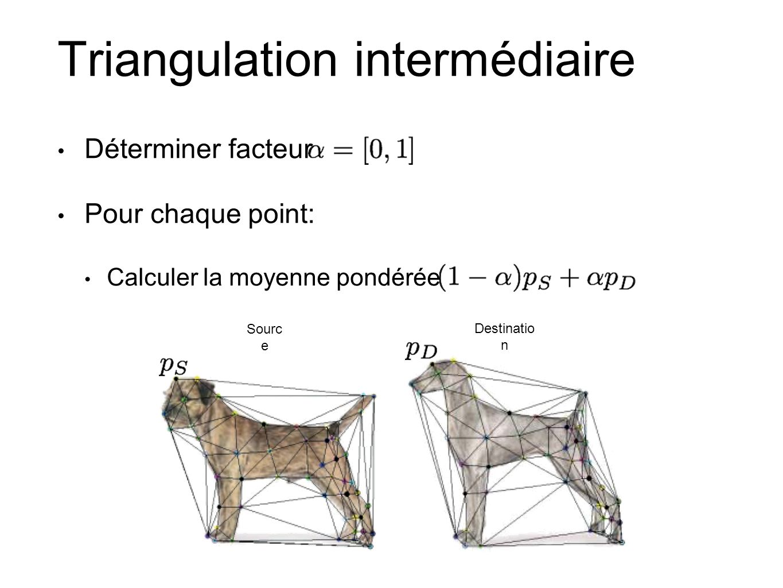 Triangulation intermédiaire
