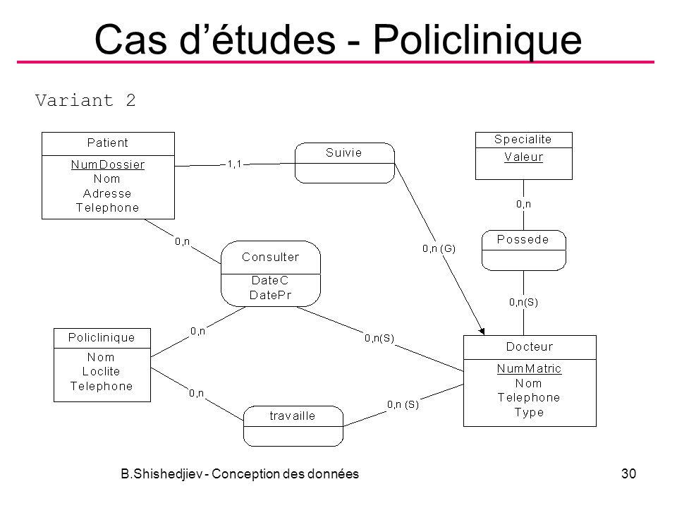 Cas d'études - Policlinique