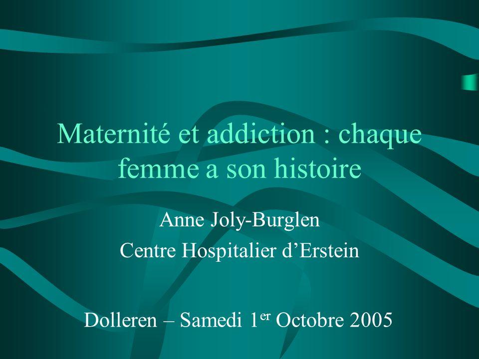 Maternité et addiction : chaque femme a son histoire