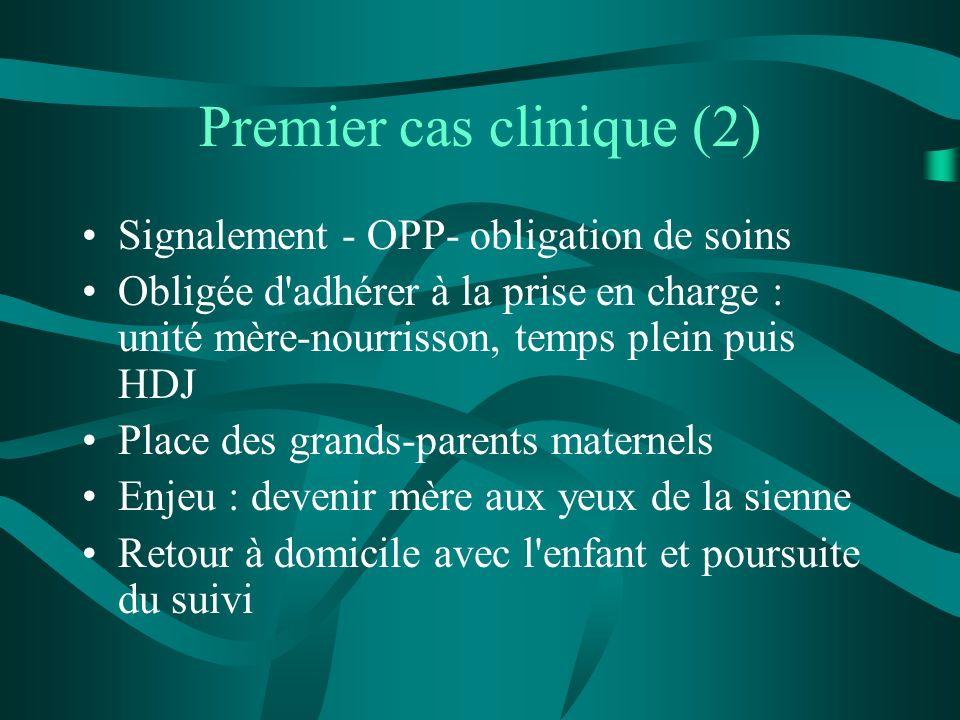 Premier cas clinique (2)
