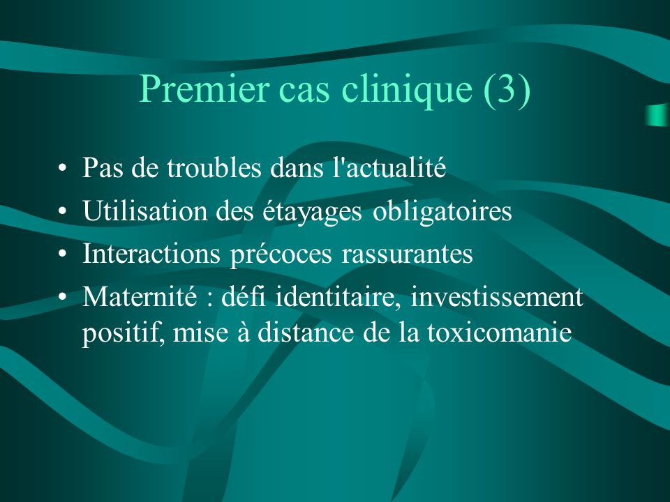 Premier cas clinique (3)