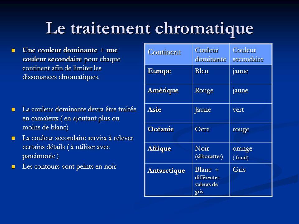Le traitement chromatique