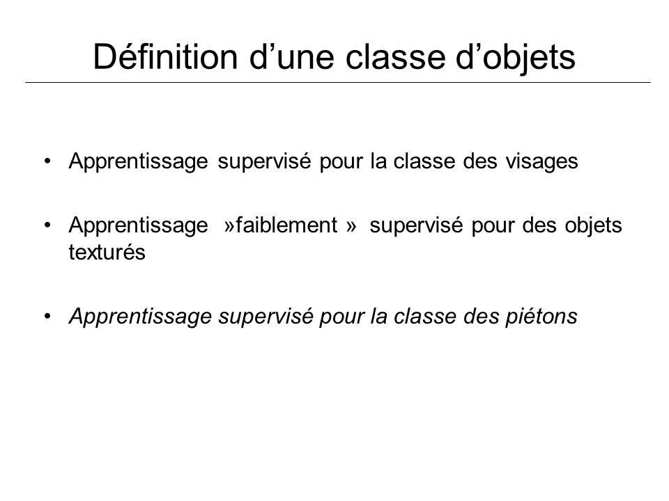 Définition d'une classe d'objets
