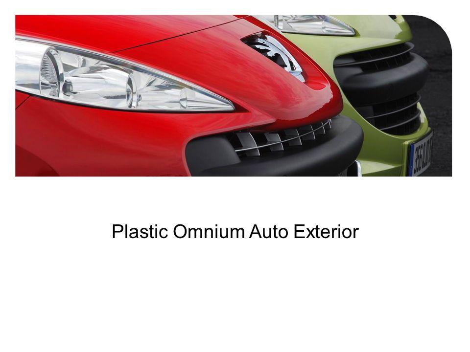 Compagnie plastic omnium ppt video online t l charger for Plastic omnium auto exterieur ruitz
