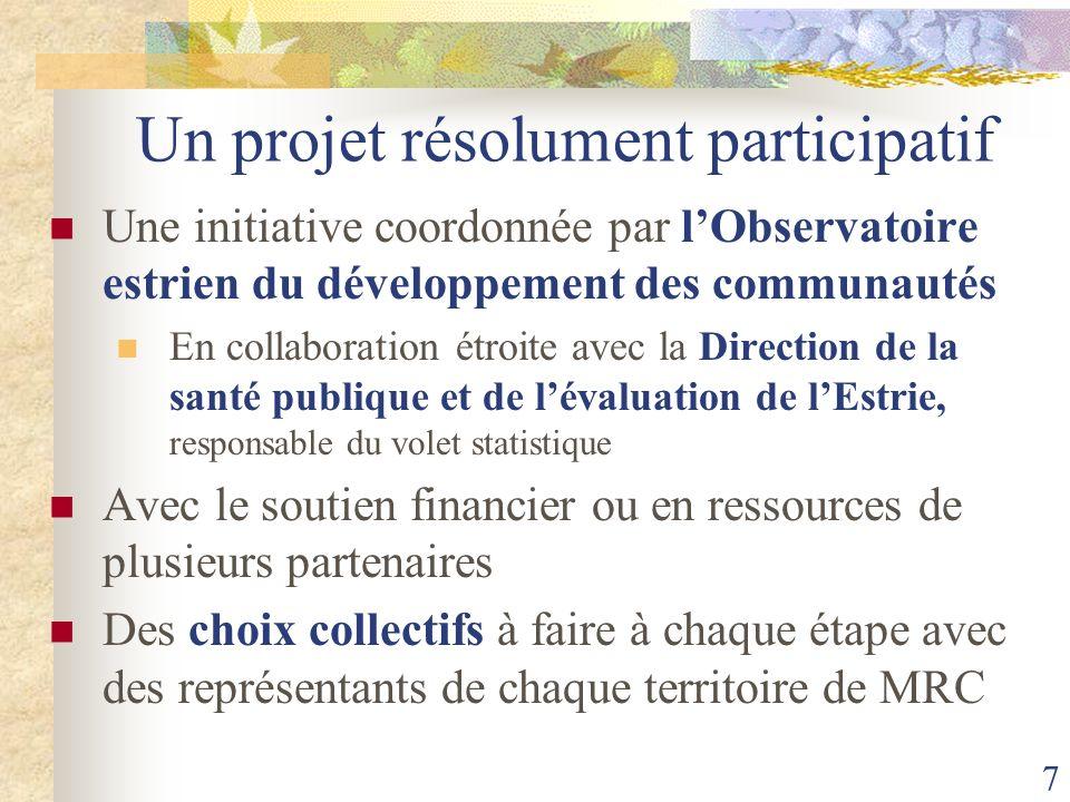 Un projet résolument participatif